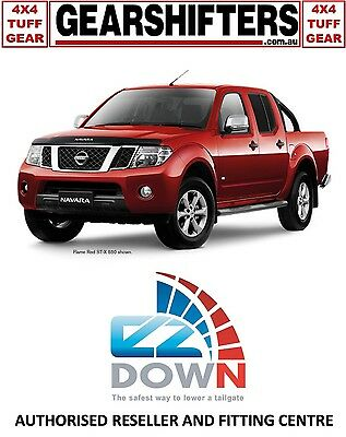 Nissan Navara D40 2005 - 2015 Ezdown Tailgate Descent Assist Kit Diy Install 4X4