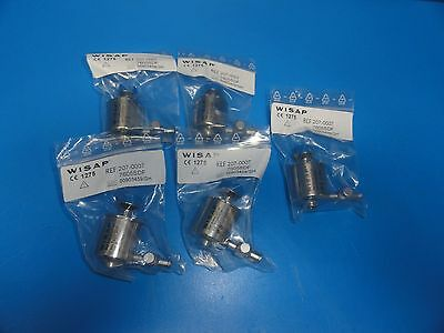 5 x WISAP 7605 SDF (207-0007) Trocar Body 6 mm , LUER Lock adapter (6273)