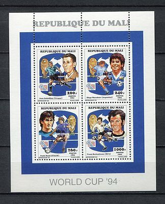 s6969) MALI 1994 MNH** WC Football - CM Calcio MS OVPTD WINNERS