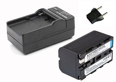 Digital Camera Li-ion Battery 4400mAh for Led Video Camera light as Sony NP-F750
