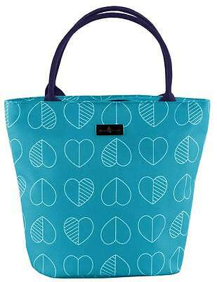 Beau & Elliot Confetti Outline Insulated Lunch Tote - Teal | Ladies Lunch Bag
