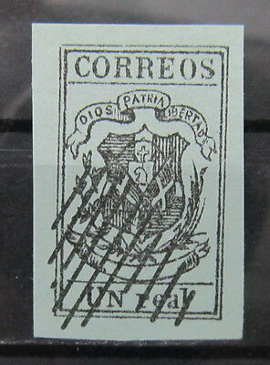 A2382 Dominican Republic Old Forgery