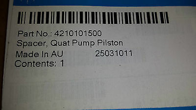 4210101500 Agilent Spacer,Quat Pump Piston. Tracked Shipping