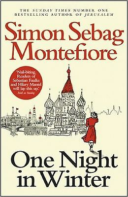 One Night in Winter by Simon Sebag Montefiore (Paperback) NEW BOOK