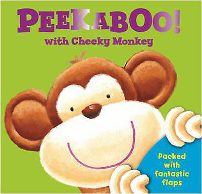 Peek a Boo with Cheeky Monkey Board Book with Lift the Flaps