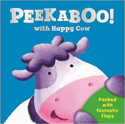 Peek a Boo with Happy Cow - Lift the Flap Board Book
