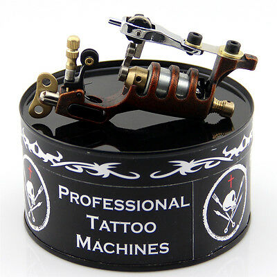 Alloy Rotary Tattoo Machine Motor Tattoo Machines Gun for Liner Shader Brown