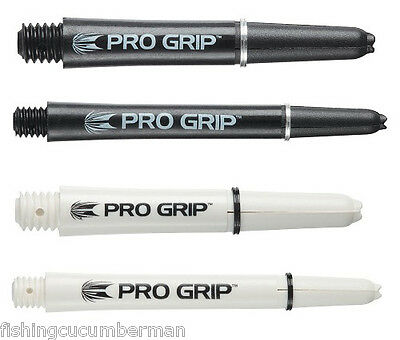 Target Pro Grip Nylon Stems/shafts With Grip Rings In Black Or White