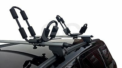 Roof Rack Bar Kayak Carrier Universal Fitment