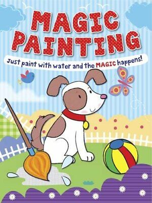 Magic Painting Book Puppy: Just Paint with Water and the Magic Happens! NEW