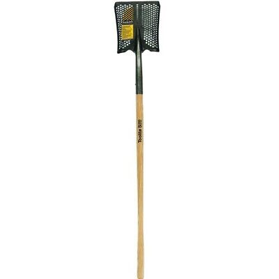 "Toolite Sifting Shovel Square Point 48"" Wood Handle 23396"