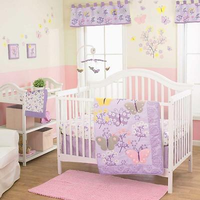 Baby Bedding Crib Cot Quilt Bumpers Sheet Music Mobile Butterfly -US Brand Lulu