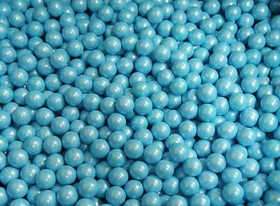 900G Baby Blue Shimmer Sixlets Pearly Candy Balls Bulk Lollies