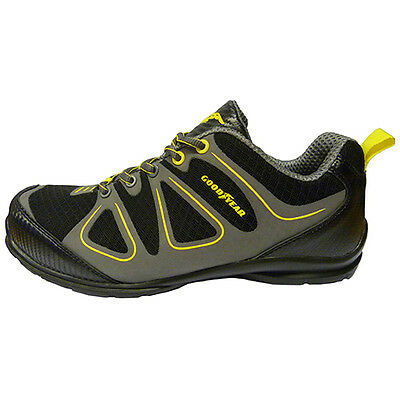 Goodyear S1P Composite Toe Safety Shoe Trainer Black Sizes 8 - 12 - New Range