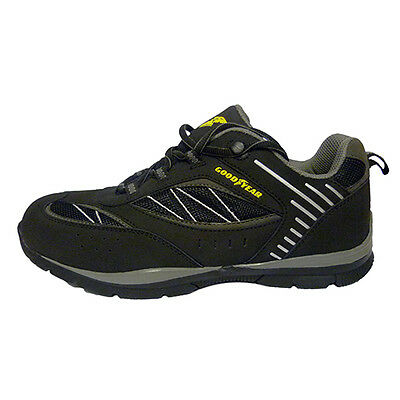 Goodyear S1P Steel Toe Safety Trainer Shoe Black Sizes 8 - 12 New Range