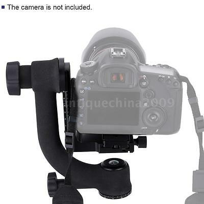 360°Panorama Gimbal Tripod Head Quick Release Plate Camera Telephoto Lens R1J3