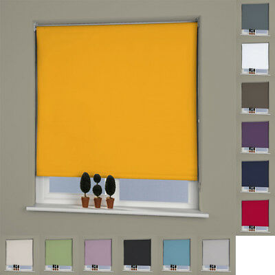 Linens Limited Plain Thermal UV Protection Blackout Roller Blind