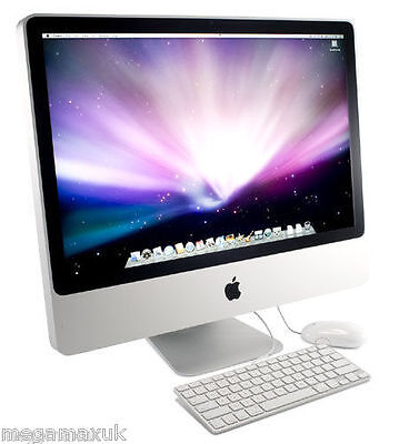 """Apple iMac 20"""" Core 2 Duo 2.66GHz 4GB 320GB HDD 2008 A1224 MB324"""