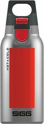 Sigg - Hot & Cold One Accent Red - 0.3L - NEW Drink Bottle - FREE UK Delivery