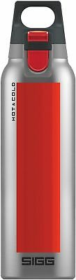 Sigg - Hot & Cold One Accent Red - 0.5L - NEW Drink Bottle - FREE UK Delivery