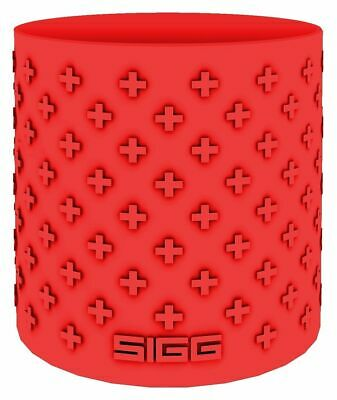 Sigg - Colour Your Day Silicone Grip Red - Bottle Grip - FREE UK Delivery