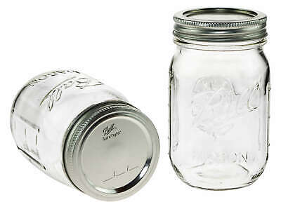 Ball Mason Gläser, Jars 470ml, 16oz regular mouth -=Made in USA=- Menge wählbar