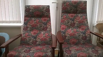 Parker Knoll Vintage Chairs, His And Hers