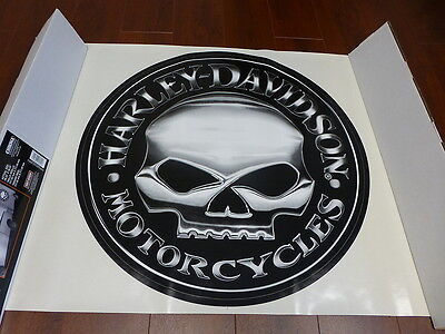 Harley-Davidson Willie G Skull Extra Large Trailer Decal Sticker NEW