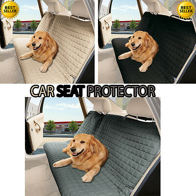 Dog Car Seat Protector SUV Cover Waterproof Cat Pets Travel Protectors
