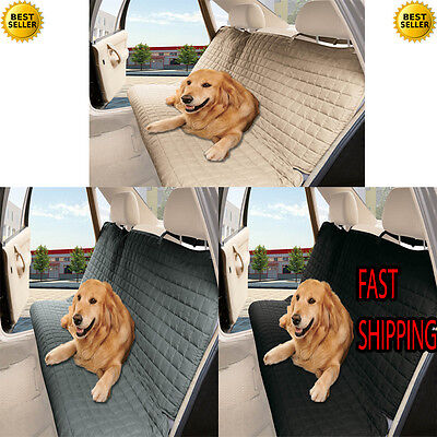 Quilted Design % 100 Waterproof Premium Quality Bench Car Seat Protector Cover