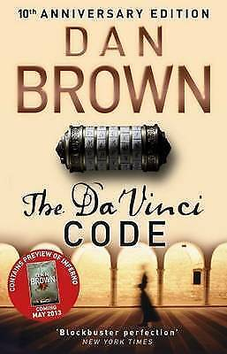 The Da Vinci Code by Dan Brown - New paperback book