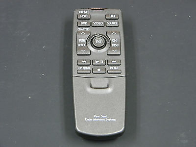 LEXUS LX570 REAR DVD Entertainment Remote Control REAR SEAT OEM 86170-50230