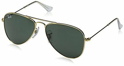 Ray Ban Kids RJ 9506 S 223/71 Gold 50 Green New 100% Authentic Sunglass
