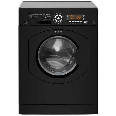 Hotpoint WMAO743K A+++ 7Kg 1400 Spin Washing Machine Black New from AO