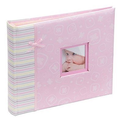 Happy Baby Girl Pink Photo albums & scrapbooks Book 2 in 1- SCR201PK