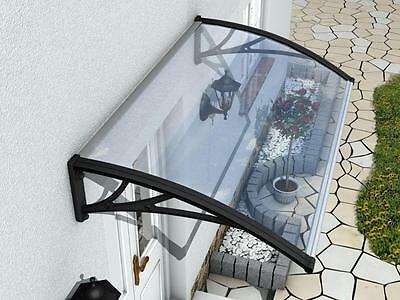 Black Door/window Canopy Awning smoke Shelter Porch Outdoor Canopies Patio Cover