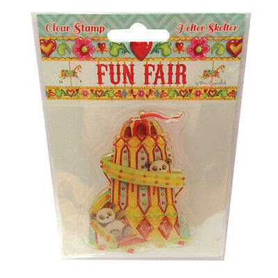 HELTER SKELTER - Clear Stamp - Helz Cuppleditch Fun Fair Collection