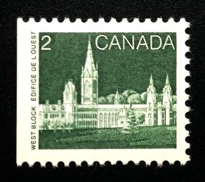 Canada #939 Uncoated APP MNH, Parliament Definitive Booklet Stamp 1985