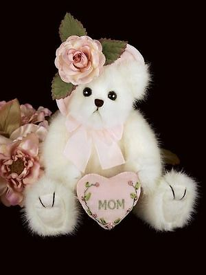 New Bearington Mommy Tenderheart Teddy Bear 10 inches Perfect Gift for Mother