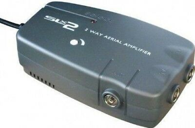 Philex 27822HSG 2 Way TV Aerial Splitter 4G Compatible | Variable Gain to 18DB
