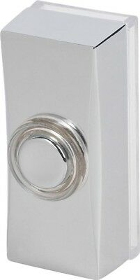 Byron 7960C Wired Surface Mounted Door Bell Push Chrome