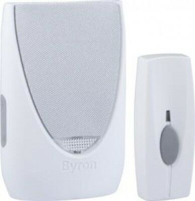 Byron Sentry BY201F 100m Wireless Portable Door Chime Kit with Flashing Light