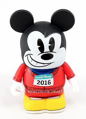 NEW Run Disney 2016 Vinylmation Red Shirt Runner Mickey Mouse Figure ONLY
