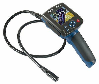REED BS-150 Video Inspection Camera, LCD Display, 0 to 180 Degrees Viewing Angle