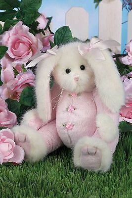 New ~ Bearington ~ Candy Cottontail ~ Plush Bunny Rabbit ~ 10 inches