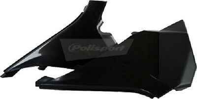 Polisport Air Box Covers Plastic Black Left and Right both KTM 8403000002