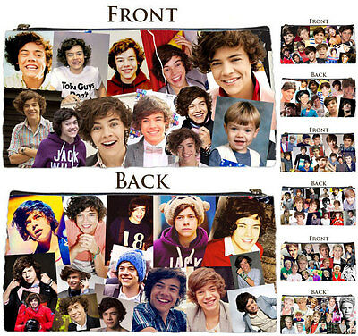 New [1D][One Direction] Harry Styles & All 1D Members Photo Collage Pencil Case