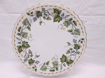 Andrea by Sadek Green Leaf & Blossoms #8777 Plate Japan 10-1/2""