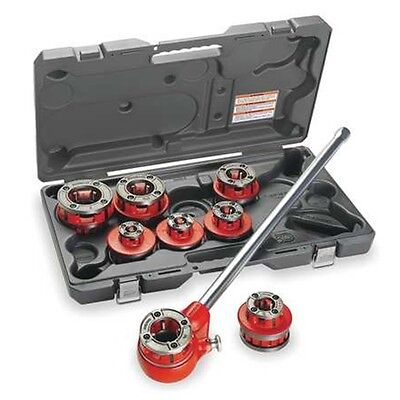 "Ridgid 36475 12-R 1/2"" - 2"" NPT Exposed Ratchet Threader Set"