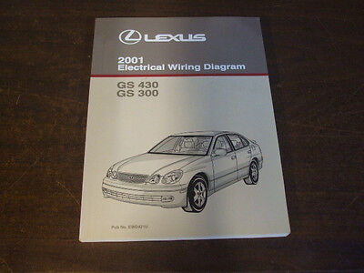 2001 LEXUS GS430 GS300 GS 430 ELECTRICAL WIRING DIAGRAM Service Repair Manual